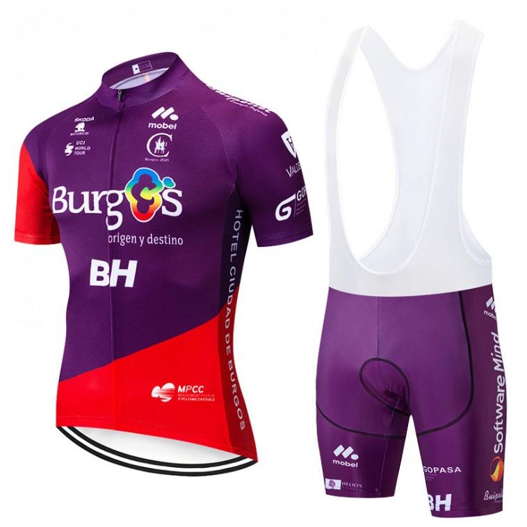 Ensemble cuissard vélo et maillot cyclisme pro BURGOS BH 2019