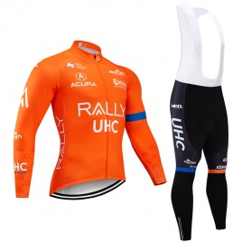 Ensemble cuissard vélo et maillot cyclisme hiver pro RALLY UHC 19