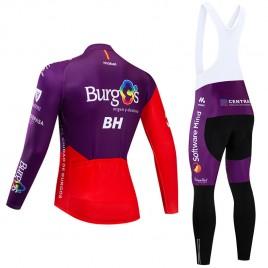 Ensemble cuissard vélo et maillot cyclisme hiver pro BURGOS BH 2019