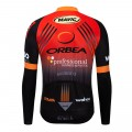 Maillot vélo hiver pro ORBEA 2019