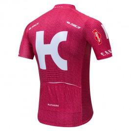 Maillot vélo équipe pro KATUSHA ALPECIN 2019 rouge