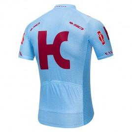 Maillot vélo équipe pro KATUSHA ALPECIN 2019 bleu