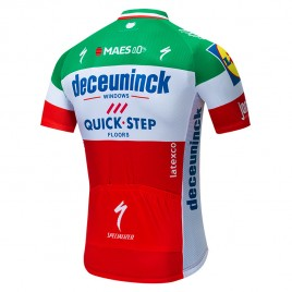 Maillot vélo équipe pro DECEUNINCK QUICK STEP 2019 Italia