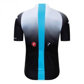 Maillot vélo équipe pro SKY 2019 Noir et Blanc