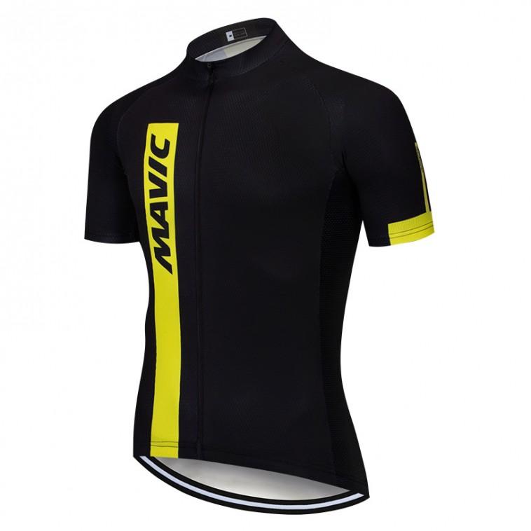 Maillot vélo équipe pro MAVIC 2019 noir