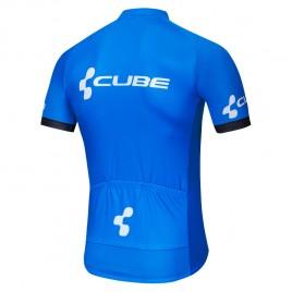 Maillot vélo équipe pro CUBE 2019 bleu