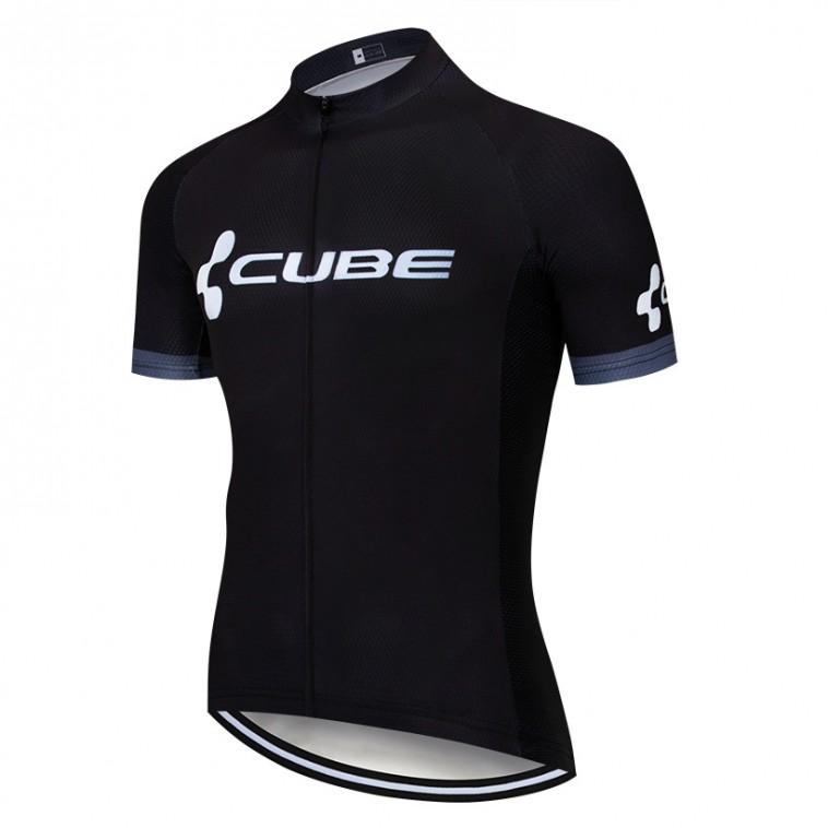 Maillot vélo équipe pro CUBE 2019 noir