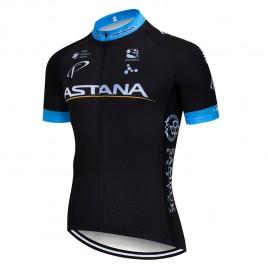 Maillot vélo équipe pro ASTANA 2018 noir