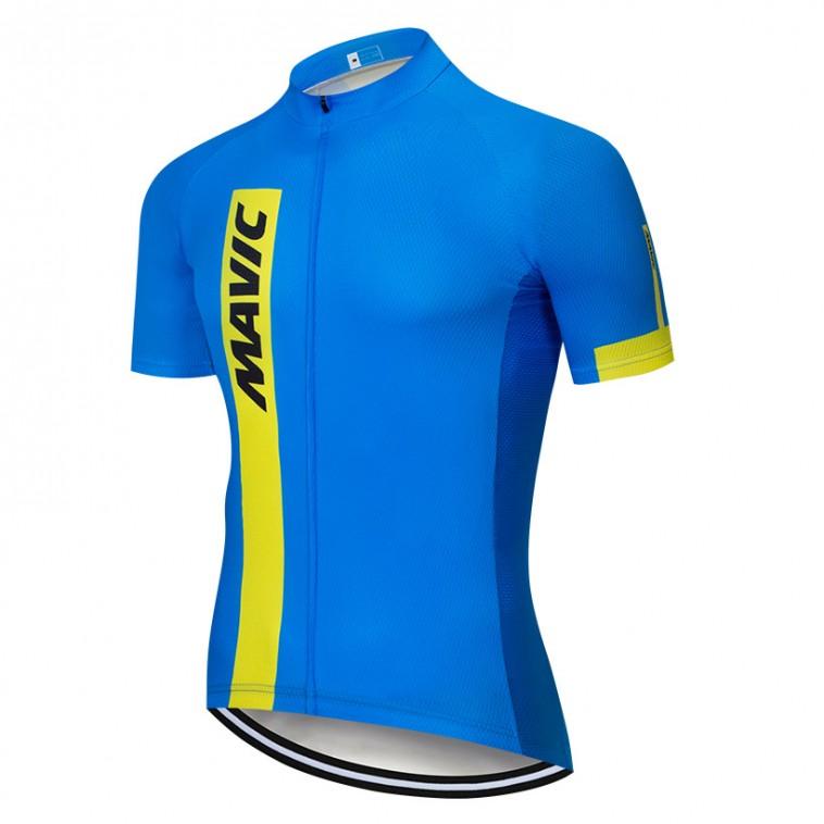 Maillot vélo équipe pro MAVIC 2019 bleu