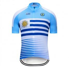 Maillot vélo équipe pro Uruguay 2019