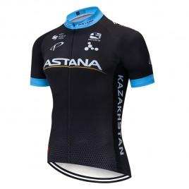 Maillot vélo équipe pro ASTANA 2019 Noir