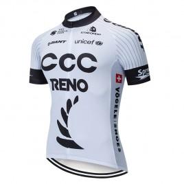 Maillot vélo équipe pro CCC RENO GIANT 2019 Blanc