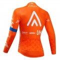 Maillot vélo hiver pro RALLY UHC 2019