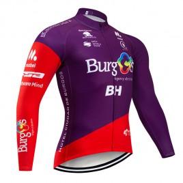 Maillot vélo hiver pro BURGOS BH 2019
