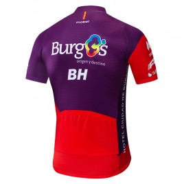 Maillot vélo équipe pro BURGOS BH 2019