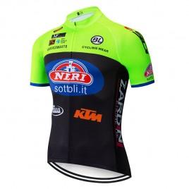Maillot vélo équipe pro NERI Sottoli - Selle Italia - KTM 2019