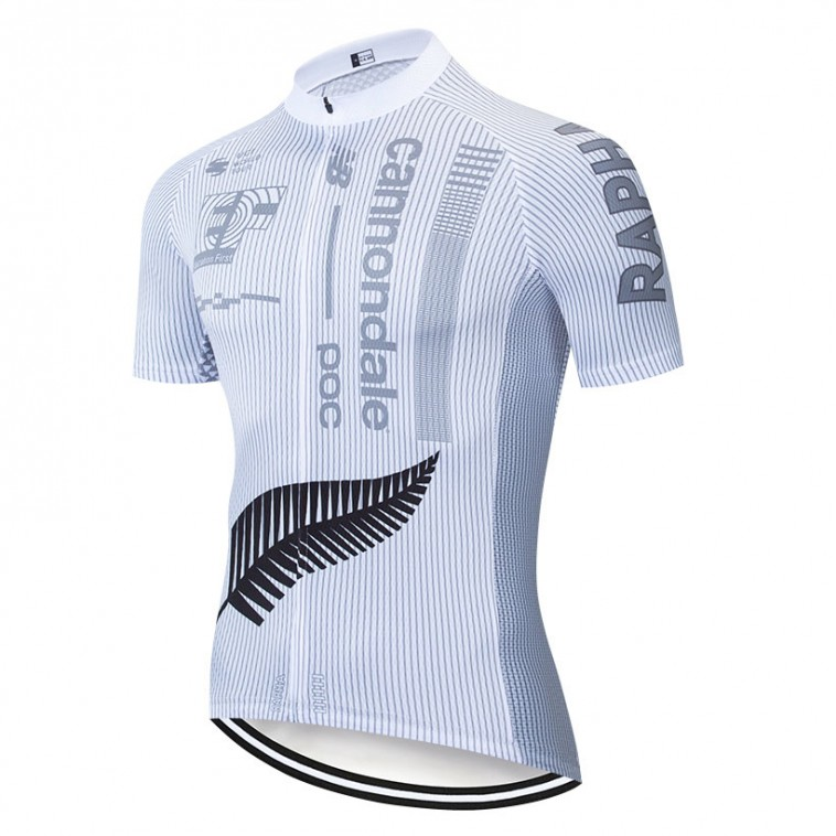 Maillot vélo équipe pro EF Education First Cannondale 2019 Rapha Blanc
