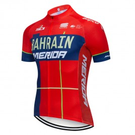 Maillot vélo équipe pro BAHRAIN Merida 2019