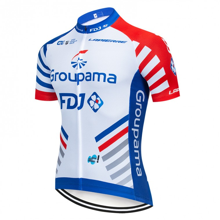 Maillot vélo équipe pro GROUPAMA FDJ 2019