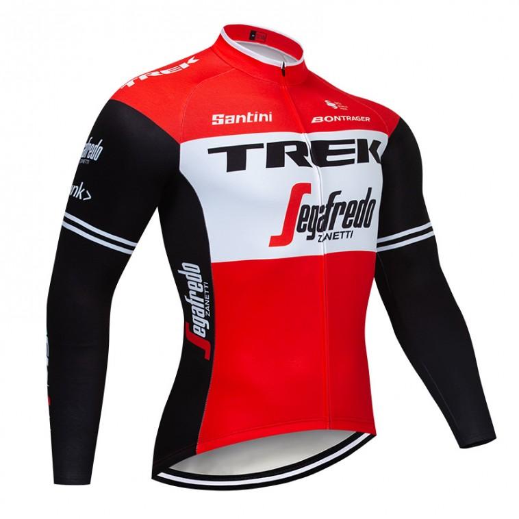 Maillot vélo hiver pro TREK Segafredo 2019