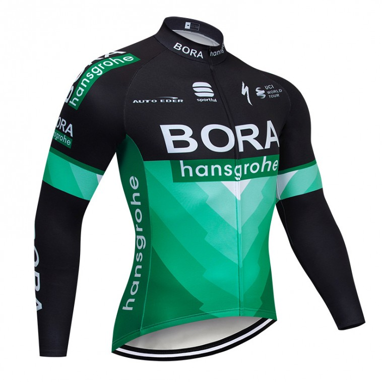 Maillot vélo hiver pro BORA Hansgrohe 2019