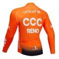 Maillot vélo hiver pro CCC RENO 2019