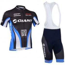 Ensemble cuissard vélo et maillot cyclisme équipe pro Giant