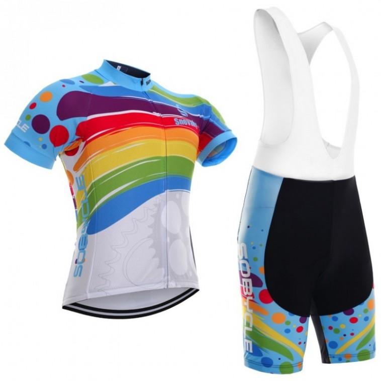 Ensemble cuissard vélo et maillot cyclisme Sobycle