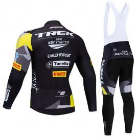 Ensemble cuissard vélo et maillot cyclisme hiver pro TREK SELLE SAN MARCO 2019