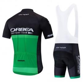 Ensemble cuissard vélo et maillot cyclisme équipe pro ORBEA 2019