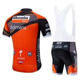 Ensemble cuissard vélo et maillot cyclisme équipe pro BOELS DOLMANS 2019