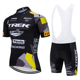 Ensemble cuissard vélo et maillot cyclisme équipe pro TREK SELLE SAN MARCO 2019