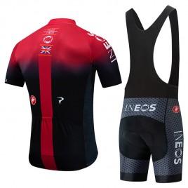 Ensemble cuissard vélo et maillot cyclisme équipe pro INEOS 2019