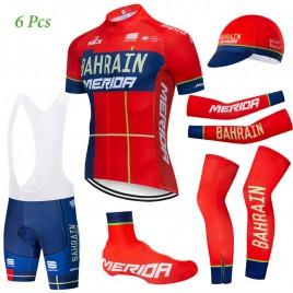 Tenue complète cyclisme équipe pro Bahrain Merida 2019