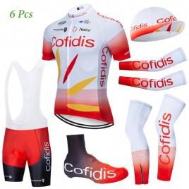 Tenue complète cyclisme équipe pro COFIDIS 2019
