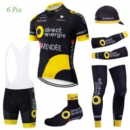 Tenue complète cyclisme équipe pro Direct Energie 2019
