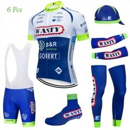Tenue complète cyclisme équipe pro WANTY Gobert 2019