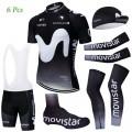 Tenue complète cyclisme équipe pro MOVISTAR 2019 Noir