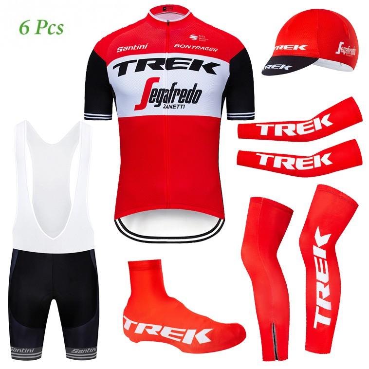Tenue complète cyclisme équipe pro TREK Segafredo 2019