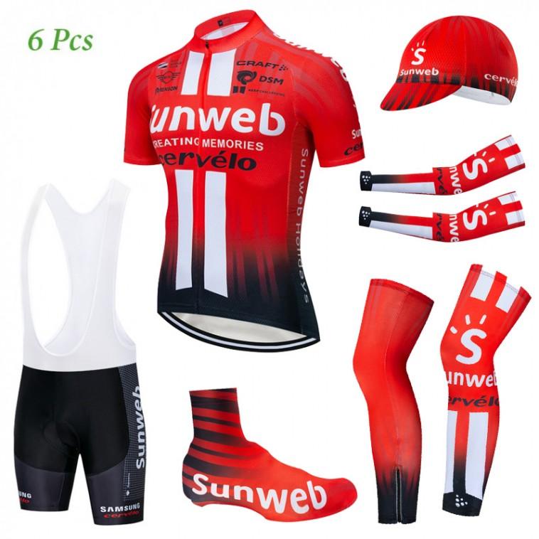 Tenue complète cyclisme équipe pro SUNWEB 2019