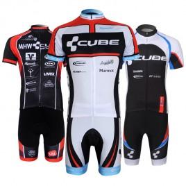 Ensemble cuissard vélo et maillot cyclisme équipe pro Cube Wanty