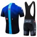 Ensemble cuissard vélo et maillot cyclisme équipe pro INEOS 2019 Blue Edition