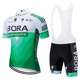 Ensemble cuissard vélo et maillot cyclisme équipe pro BORA 2019 Tour Edition