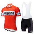 Ensemble cuissard vélo et maillot cyclisme pro vintage SAN PELLEGRINO