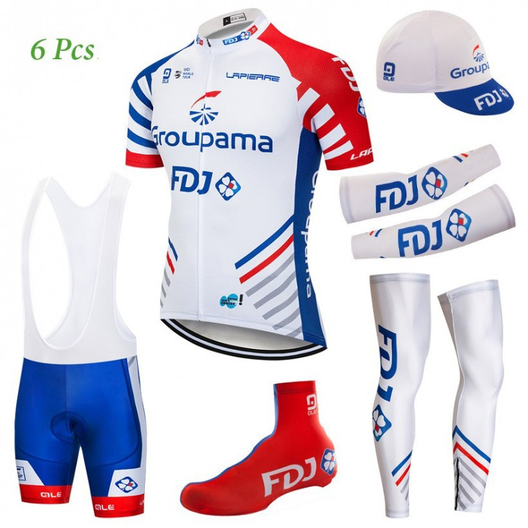 Tenue complète cyclisme équipe pro FDJ Groupama 2018