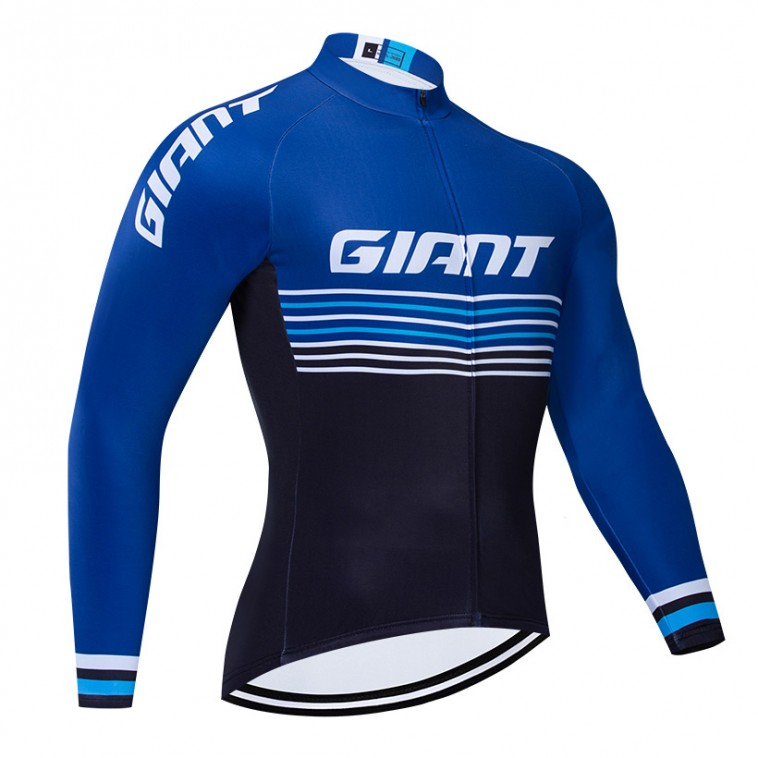 Maillot vélo hiver pro Giant 2019