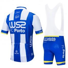 Ensemble cuissard vélo et maillot cyclisme équipe pro W52 FC PORTO 2020 Aero Mesh