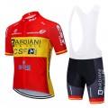 Ensemble cuissard vélo et maillot cyclisme équipe pro BARDIANI CSF 2020 Aero Mesh
