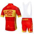 Ensemble cuissard vélo et maillot cyclisme équipe pro W52 FC PORTO Red 2020 Aero Mesh