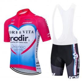 Ensemble cuissard vélo et maillot cyclisme équipe pro AMORE & VITA – PRODIR 2020 Aero Mesh